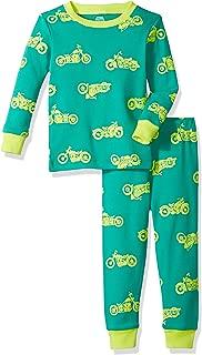 Amazon Essentials Baby Long-Sleeve Tight-fit 2-Piece Pajama Set