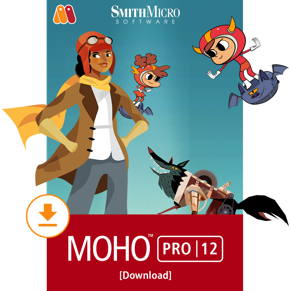 Moho Pro 12 2D Animation Software [Download]