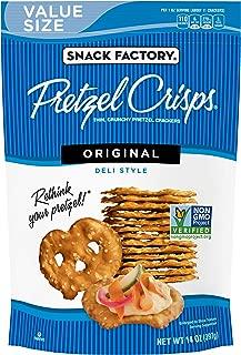 Snack Factory Pretzel Crisps, Original, 14 Ounce Value Size