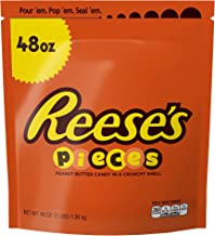 Reese's Pieces, Peanut Butter Candy, 48 Ounce