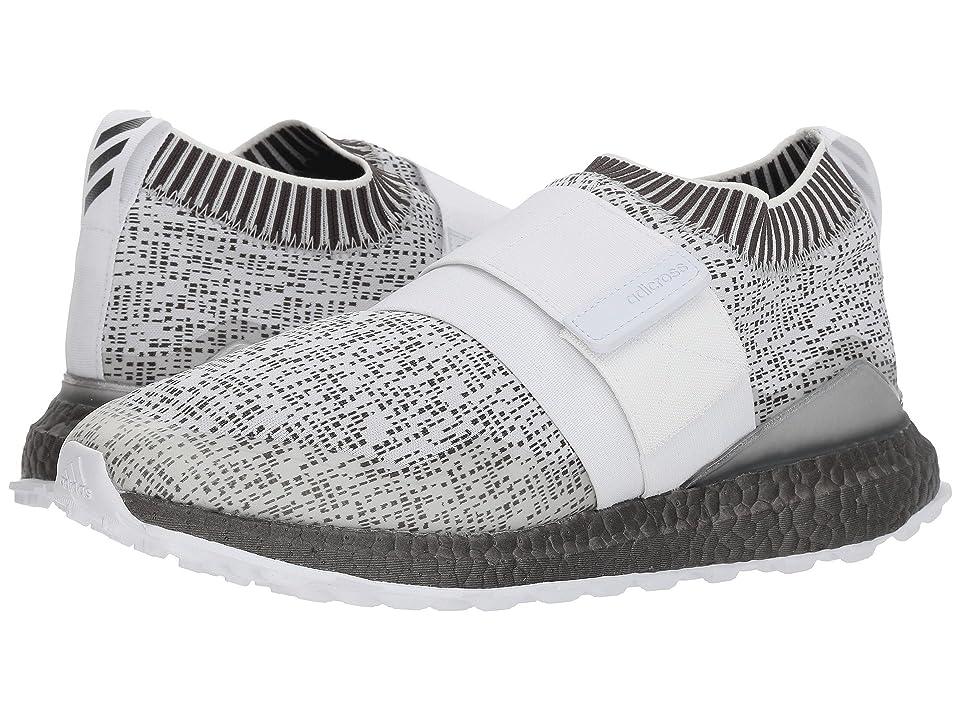 adidas Golf Crossknit 2.0 (Footwear White/Footwear White/Trace Grey) Men