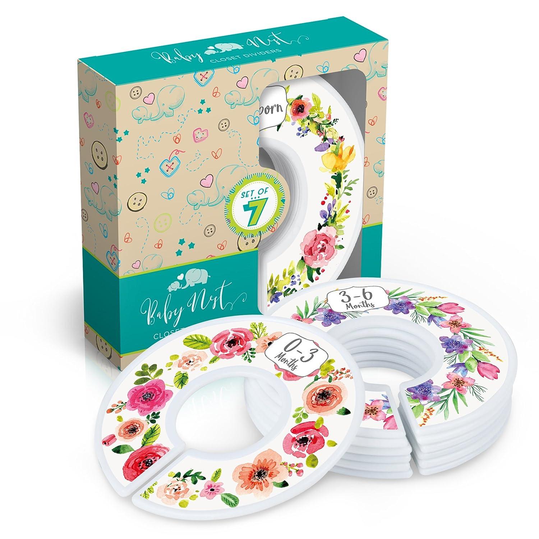 Cheap SALE Start Baby Nest Special sale item Designs Closet Dividers for Bouqu Clothes Floral