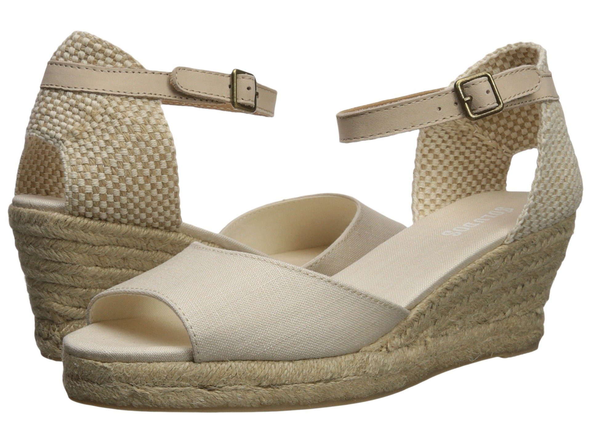 toe 70mm Soludos Blush Open Midwedge Rppnfa45