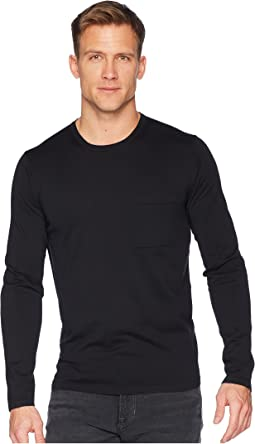 Single Pocket Crew Neck