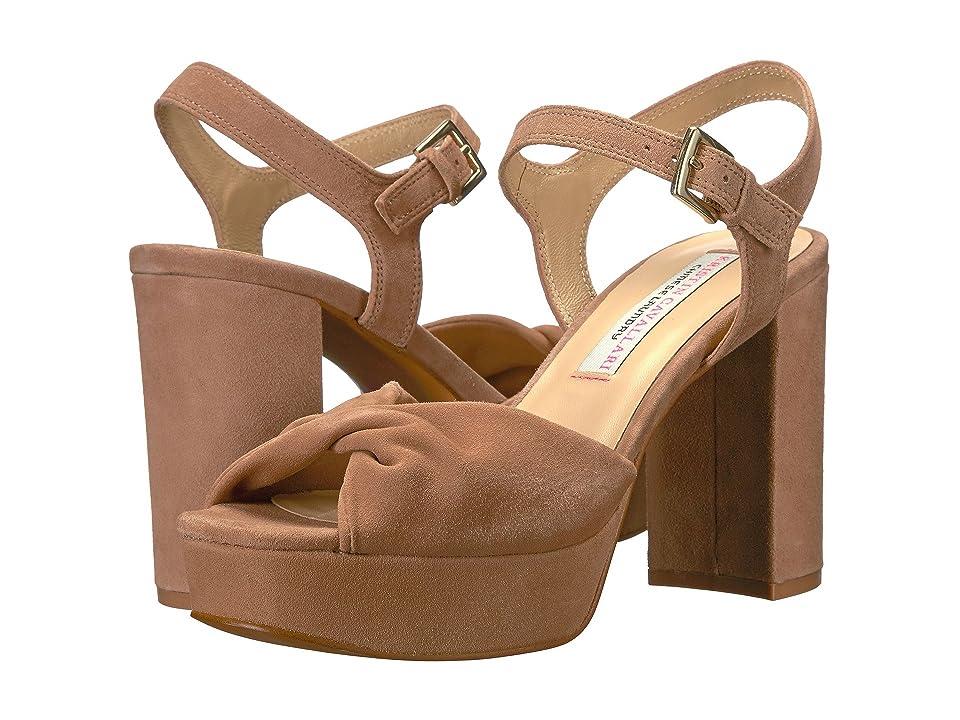 Kristin Cavallari Ryne Platform Sandal (Clay Kid Suede) Women