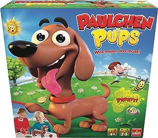 Goliath Juego de Mesa para niños Paulchen Pups (30685), divertirse con cachorritos,