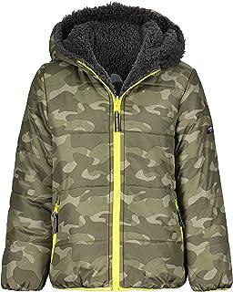 boys Heavyweight Colorblock Puffer Coat