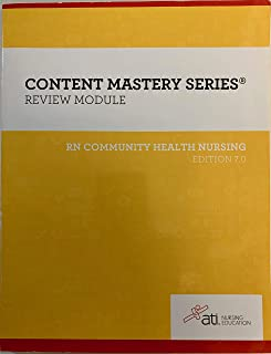 Content Mastery Series (Review Module)-RN community Health Nursing 10th Edition