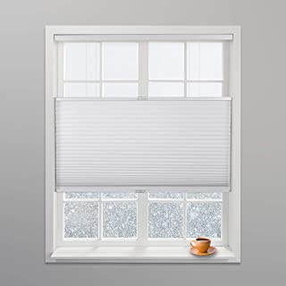 Arlo Blinds White Light Filtering Top Down Bottom Up Deluxe Cordless Cellular Shades - Size: 24