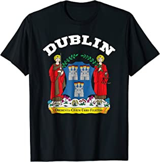 Dublin T-shirt Sport/Soccer Jersey Tee Flag Football Irish
