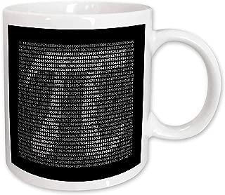 3dRose mug_108361_1 Pi Written Out Ceramic Mug, 11-Ounce