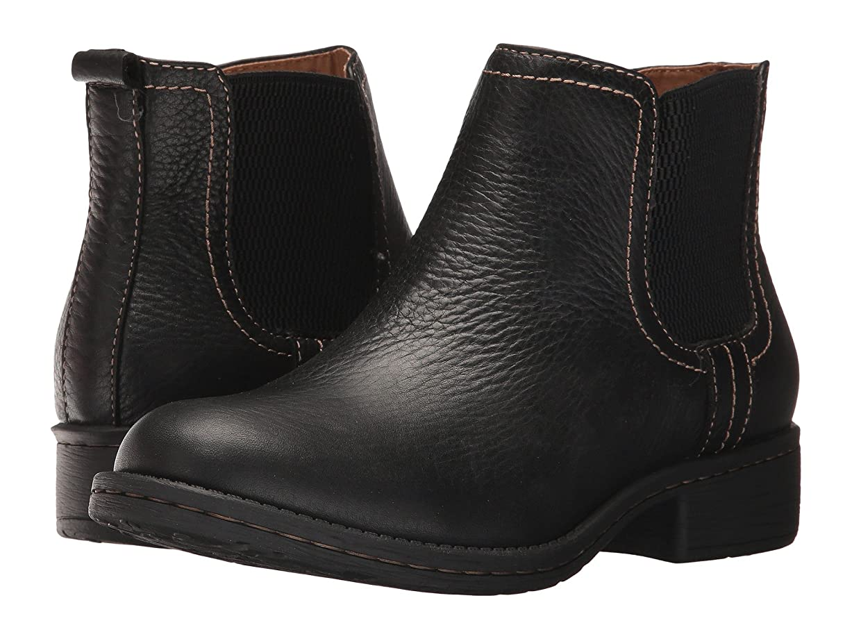 フォーマルコスト傾向[カンフォーティヴァ] Comfortiva レディース Salara アンクルブーツ Black Wild Steer US7.5(24cm) - W (D) [並行輸入品]