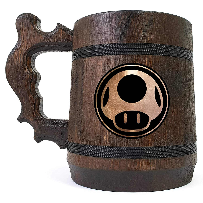 Mushroom Beer Bombing new work 2021 Mug Mario Stein Bros Gift Smash Super
