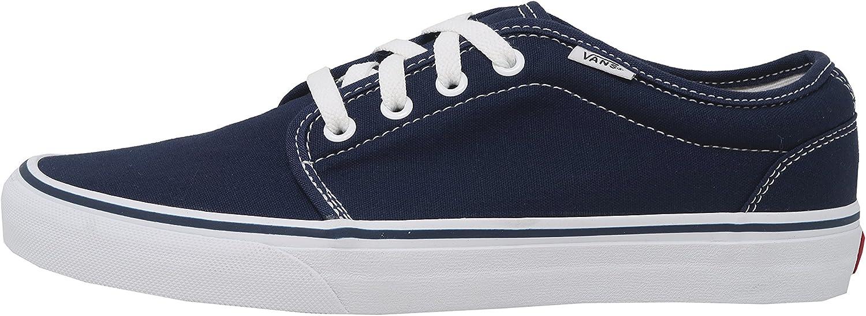 Vans Men's Sneakers 106 Vulcanized Skate Shoes Navy Blue/White