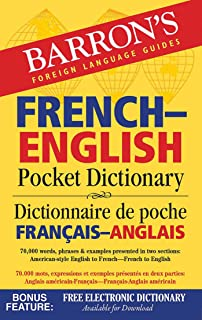 French-English Pocket Dictionary: 70,000 words, phrases & examples