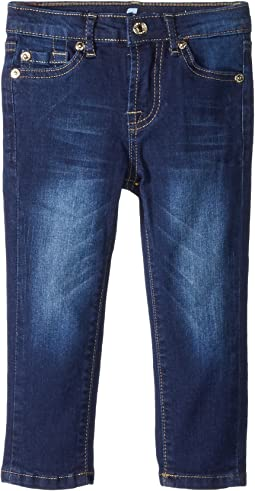 7 For All Mankind Kids - Slimmy Jeans in Santiago Canyon (Toddler)