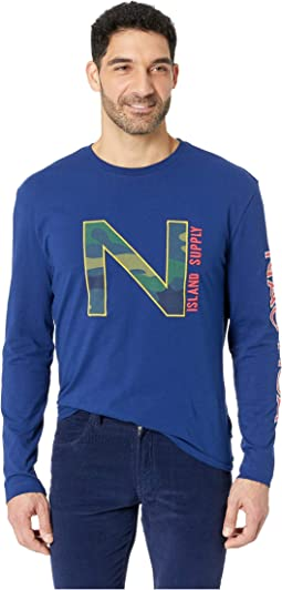 Long Sleeve Nautica Fashion Tee