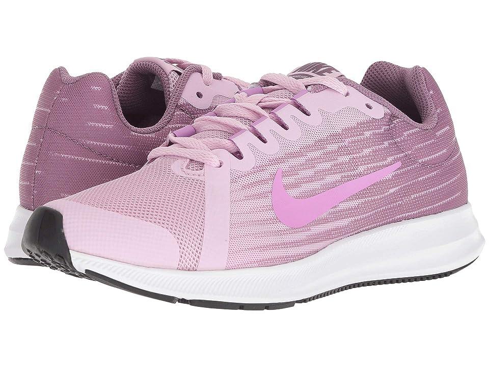 Nike Kids Downshifter 8 (Big Kid) (Light Arctic Pink/Fuchsia Glow/Violet Dust) Girls Shoes