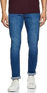 Wrangler Men's Skinny Fit Jeans (W38701W22SMU032033_Jsw-Indigo_32W x 33L)
