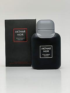 Akthar Noir Eau De Toilette Spray For Men, 2.5 Ounce 75 Ml - Scent Similar to Drakkar Noir Guy Laroche