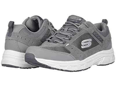 SKECHERS Oak Canyon (Gray/White) Men