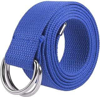 white d ring belt