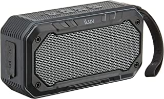 iLuv Impact Level 1, IPX7 Rated Portable Floating Waterproof Bluetooth Speaker