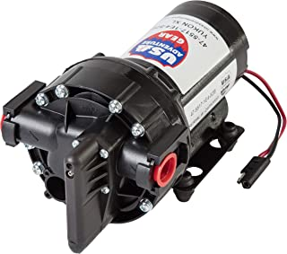 USA Adventure Gear Progear 5500 High Performance Professional Grade Water Pump | 5.3GPM | 14 Foot Lift | 60 PSI |Electric Quiet Operation | Self-Priming | Potable Water Use | RV, Boat, Plumbing