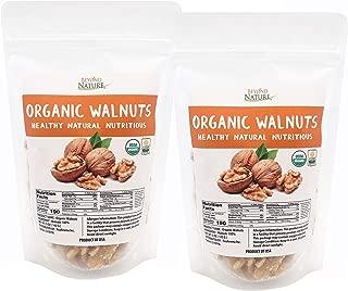 Beyond Nature, California Grown Raw Organic Walnuts 10 oz (5 oz - Pack of 2)