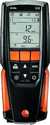 testo 310 Analizador de gases de combustión, kit con impresora: Amazon.es: Industria, empresas y ciencia