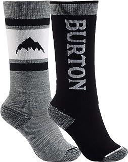 Burton Kids` Weekend Midweight Ski/Snowboard Sock 2-Pack
