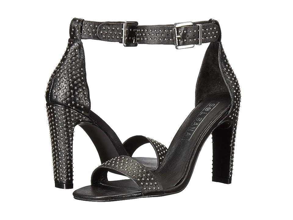 Sol Sana Page Heel (Black/Silver Stud) High Heels