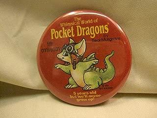 5th Anniversary Red Pocket Dragon Pin