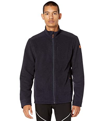 Smartwool Anchor Line Full Zip Jacket (Deep Navy Heather) Men