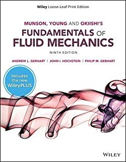 Munson, Young and Okiishi's Fundamentals of Fluid Mechanics, WileyPLUS NextGen Card with Loose-leaf Set