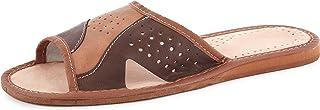 Ladeheid Men´s Leather Slippers Shoes Flipflops LABR108