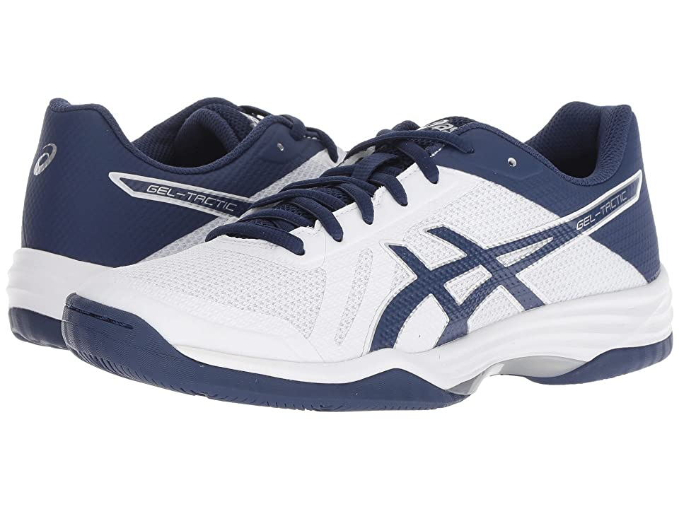 ASICS Gel-Tactic 2 (Real White/Deep Ocean) Women