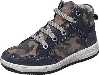 DIDI Blu Sneaker Bambino Pelle Scamosciata Grigio