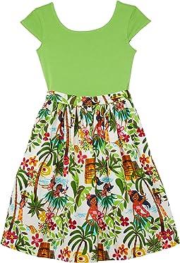 Maddy Hula Girl Dress (Toddler/Little Kids/Big Kids)