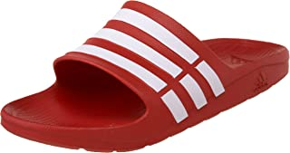 c830e3b63134 Amazon.com  Red - Sport Sandals   Slides   Athletic  Clothing