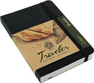 Pentalic 016162-1 Traveler Pocket Journal Sketch, 6