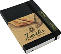 Pentalic 016162-1 Traveler Pocket Journal Sketch, 6