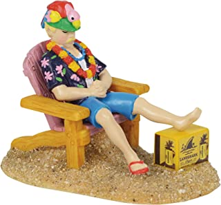 Department 56 Margaritaville Village Accessories Flipped and Flopped Figurine, 2
