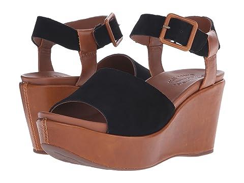 Women's Geox WTHELMA6 Sandals (Black/Grey) - BG526C29T