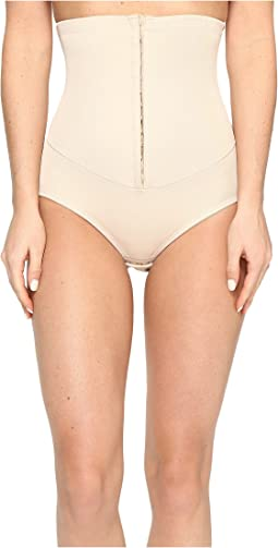 Miraclesuit Shapewear Inches Off Hook & Eye Waist Cinching Brief