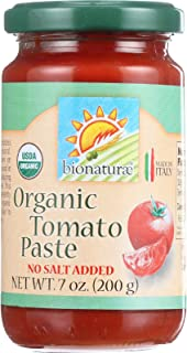 Bionaturae Organic Tomato Paste, 7 Ounce (Pack of 12)