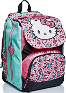 Mochila extensible Big Hello Kitty, Fabulous, rosa y azul, escuela primaria