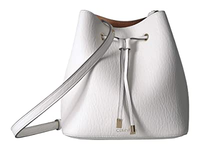 Calvin Klein Sonoma Bubble Lamb Novelty Hobo (White) Handbags