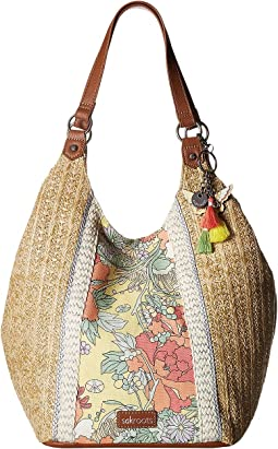 Roma Straw Shopper