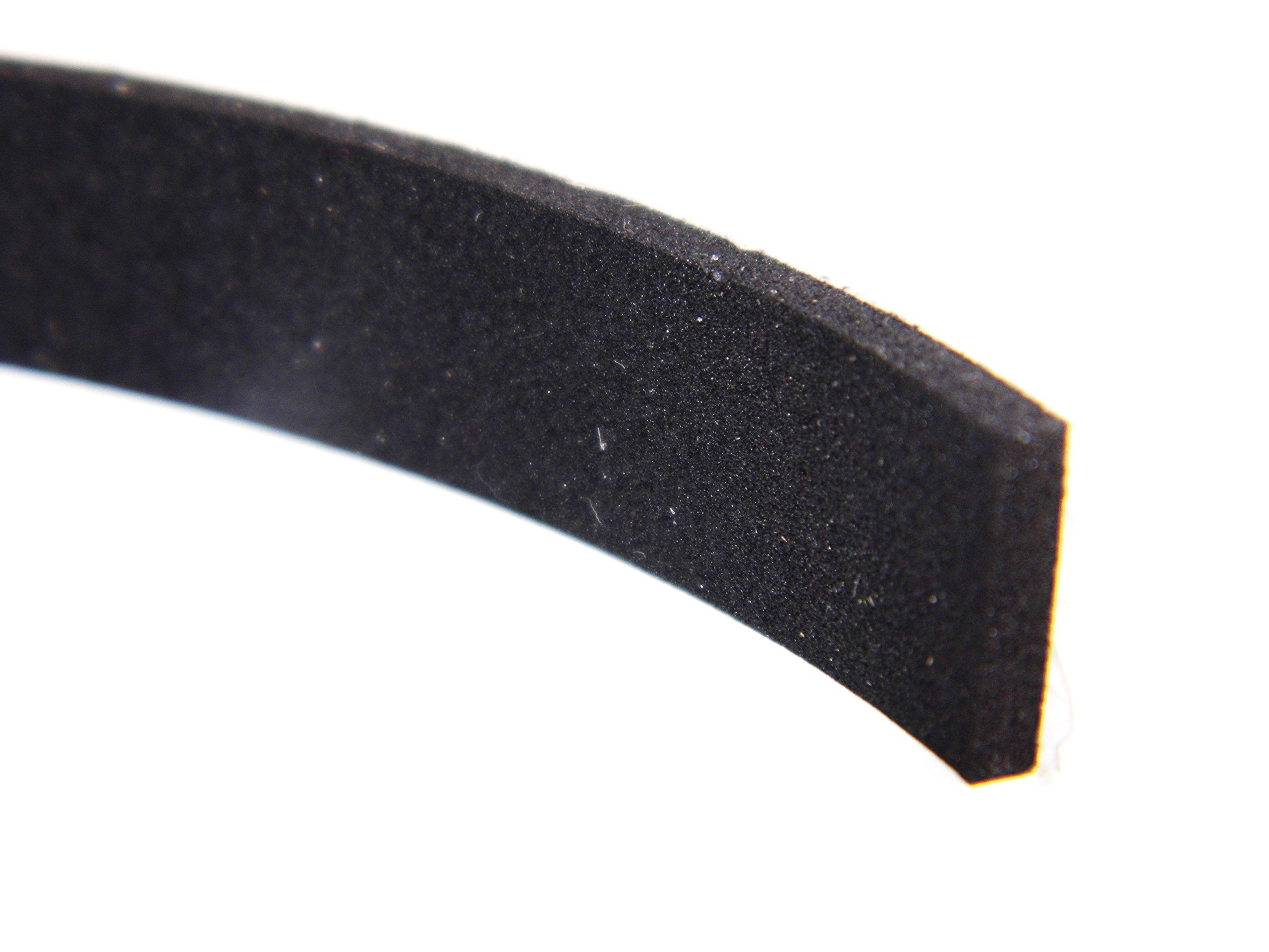 Bande d/étanch/éit/é en mousse Bande adh/ésive et joint d/étanch/éit/é - n/° 1 pour la table de cuisson et la plaque vitroc/éramique - 5 m de long - auto-adh/ésive sur une face - compressible